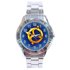 Zodiac Sagittarius Stainless Steel Analogue Watch