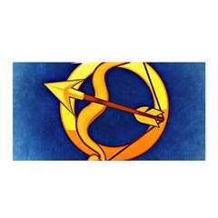 Zodiac Sagittarius Satin Wrap