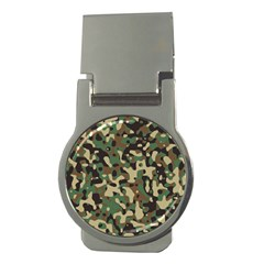Army Camouflage Money Clips (Round)