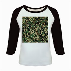 Army Camouflage Kids Baseball Jerseys