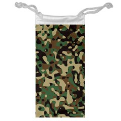 Army Camouflage Jewelry Bag