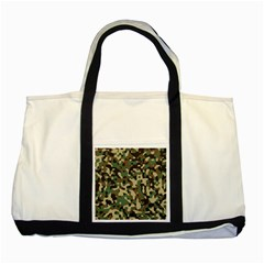 Army Camouflage Two Tone Tote Bag