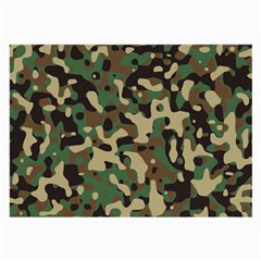 Army Camouflage Large Glasses Cloth (2-Side)