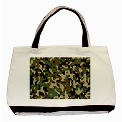 Army Camouflage Basic Tote Bag (Two Sides)