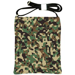 Army Camouflage Shoulder Sling Bags