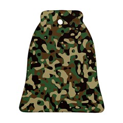 Army Camouflage Bell Ornament (Two Sides)