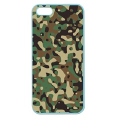 Army Camouflage Apple Seamless iPhone 5 Case (Color)
