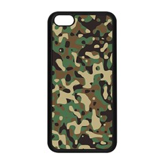 Army Camouflage Apple iPhone 5C Seamless Case (Black)
