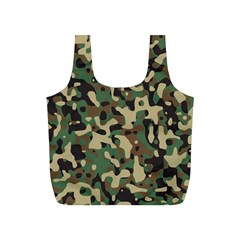 Army Camouflage Full Print Recycle Bags (S)