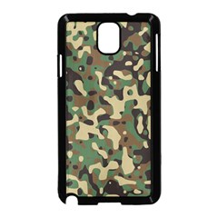 Army Camouflage Samsung Galaxy Note 3 Neo Hardshell Case (Black)
