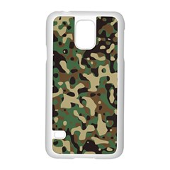 Army Camouflage Samsung Galaxy S5 Case (White)