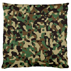 Army Camouflage Standard Flano Cushion Case (Two Sides)