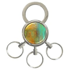 The Waterfall 3 Ring Key Chains