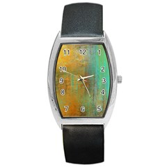 The Waterfall Barrel Style Metal Watch