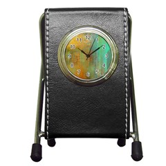 The Waterfall Pen Holder Desk Clocks