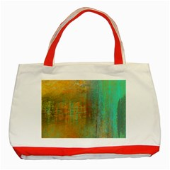 The Waterfall Classic Tote Bag (red)