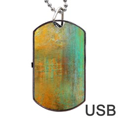 The WaterFall Dog Tag USB Flash (One Side)