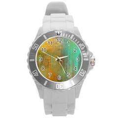 The Waterfall Round Plastic Sport Watch (l)