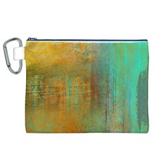 The WaterFall Canvas Cosmetic Bag (XL)