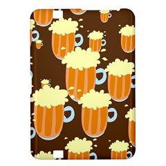 A Fun Cartoon Frothy Beer Tiling Pattern Kindle Fire Hd 8 9