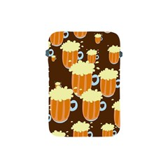 A Fun Cartoon Frothy Beer Tiling Pattern Apple Ipad Mini Protective Soft Cases