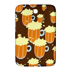 A Fun Cartoon Frothy Beer Tiling Pattern Samsung Galaxy Note 8.0 N5100 Hardshell Case