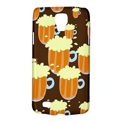 A Fun Cartoon Frothy Beer Tiling Pattern Galaxy S4 Active
