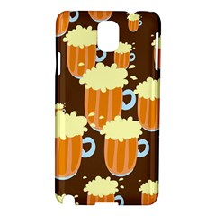 A Fun Cartoon Frothy Beer Tiling Pattern Samsung Galaxy Note 3 N9005 Hardshell Case