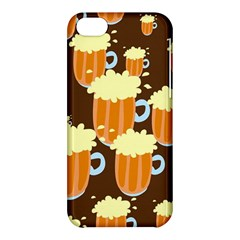 A Fun Cartoon Frothy Beer Tiling Pattern Apple Iphone 5c Hardshell Case