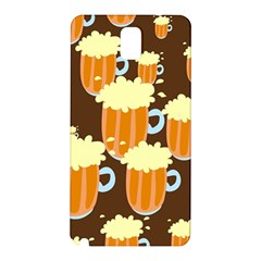 A Fun Cartoon Frothy Beer Tiling Pattern Samsung Galaxy Note 3 N9005 Hardshell Back Case