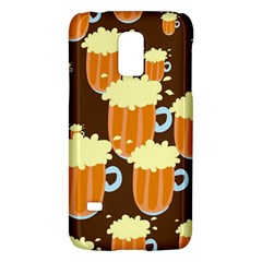 A Fun Cartoon Frothy Beer Tiling Pattern Galaxy S5 Mini