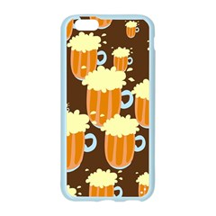 A Fun Cartoon Frothy Beer Tiling Pattern Apple Seamless iPhone 6/6S Case (Color)
