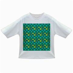 Hearts Seamless Pattern Background Infant/Toddler T-Shirts