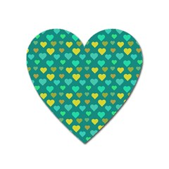 Hearts Seamless Pattern Background Heart Magnet