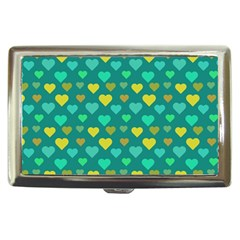 Hearts Seamless Pattern Background Cigarette Money Cases