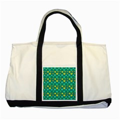 Hearts Seamless Pattern Background Two Tone Tote Bag