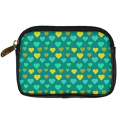 Hearts Seamless Pattern Background Digital Camera Cases
