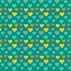 Hearts Seamless Pattern Background Magic Photo Cubes