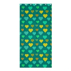Hearts Seamless Pattern Background Shower Curtain 36  x 72  (Stall)