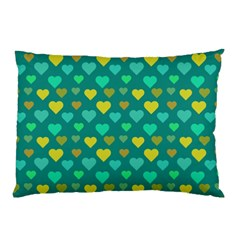 Hearts Seamless Pattern Background Pillow Case (Two Sides)