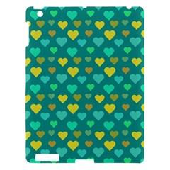 Hearts Seamless Pattern Background Apple iPad 3/4 Hardshell Case