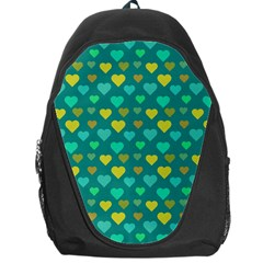 Hearts Seamless Pattern Background Backpack Bag