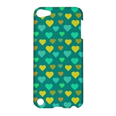 Hearts Seamless Pattern Background Apple iPod Touch 5 Hardshell Case