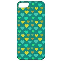 Hearts Seamless Pattern Background Apple iPhone 5 Classic Hardshell Case