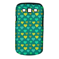 Hearts Seamless Pattern Background Samsung Galaxy S III Classic Hardshell Case (PC+Silicone)