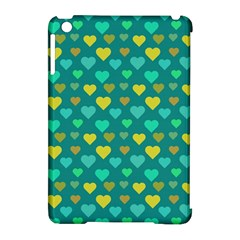 Hearts Seamless Pattern Background Apple Ipad Mini Hardshell Case (compatible With Smart Cover)