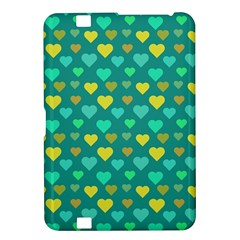 Hearts Seamless Pattern Background Kindle Fire Hd 8 9