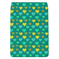 Hearts Seamless Pattern Background Flap Covers (S)