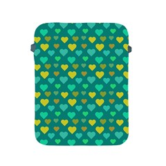 Hearts Seamless Pattern Background Apple iPad 2/3/4 Protective Soft Cases