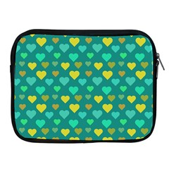 Hearts Seamless Pattern Background Apple iPad 2/3/4 Zipper Cases